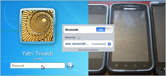 Automatically unlock your PC with a Bluetooth phone