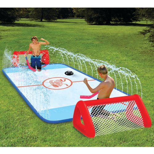 Slip 'N Slide Knee-Hockey Rink