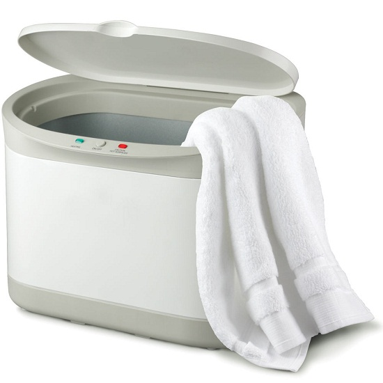 Personal Towel Warmer makes you feel like you're at the spa