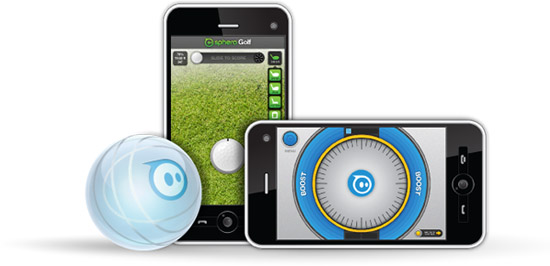 Sphero is a smartphone-controlled R/C ball