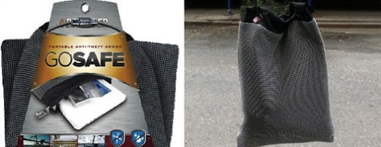 Go Safe Bag protects your gadgets medieval style