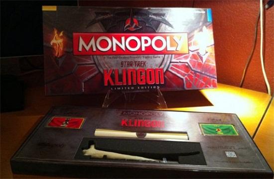 Limited Edition Star Trek Klingon Monopoly