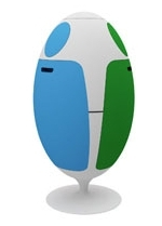 Ovetto Recycling bin lets you recycle in style!