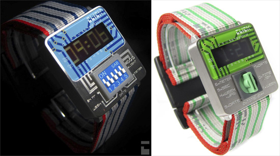 Click Watches bring circuitboards to your wrist