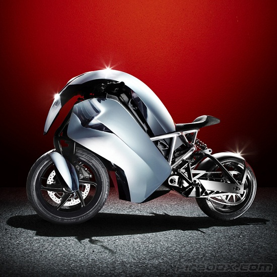 Agility Saietta R Bike looks good, doesn't pollute the atmosphere