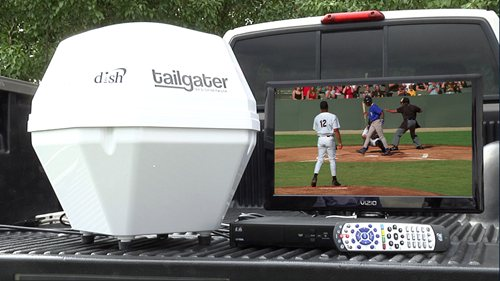 The Tailgater brings you TV almost anywhere