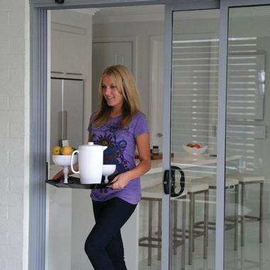 AutoSlide Lifestyle Kit automates your sliding glass door