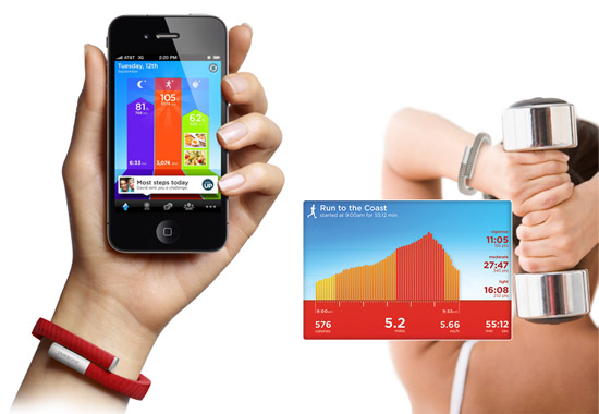 Jawbone UP keeps track of your daily routines