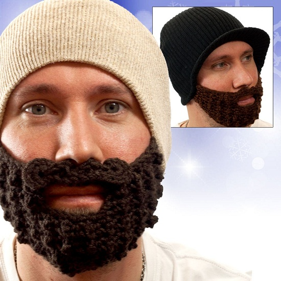 Beard Beanie is the epic way to keep your face warm this winter