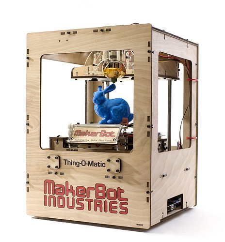 MakerBot Thing-O-Matic is the ultimate 3D printer kit