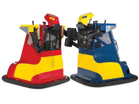 Bionic Bopper Cars are the Richie Rich version of Rock 'Em Sock 'Em Robots
