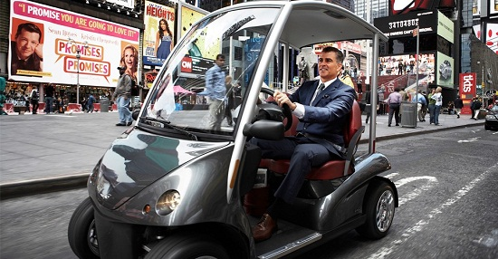 Garia LSV is a street legal golf cart for the 1%