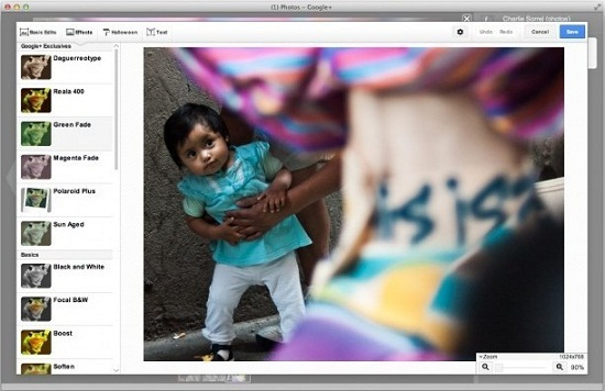 Google+ gets a new photo editor