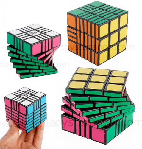 IQ Brick is a new and more frustrating spin on the Rubik's Cube