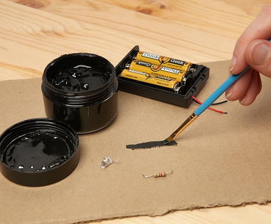 Connect your circuits with this Conductive Paint