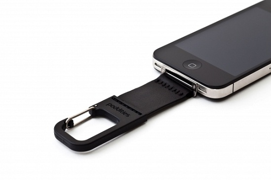 iPhone Carabiner Clip puts your favorite gadget in harm's way