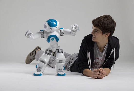 NAO Next Gen may be small, but it's making strides in the robot world