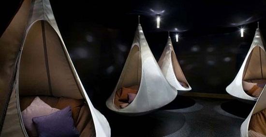 Cacoon is half tent, half hammock