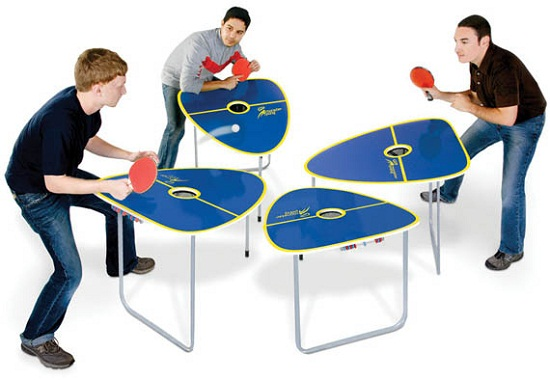 Need to spice up your table tennis games?