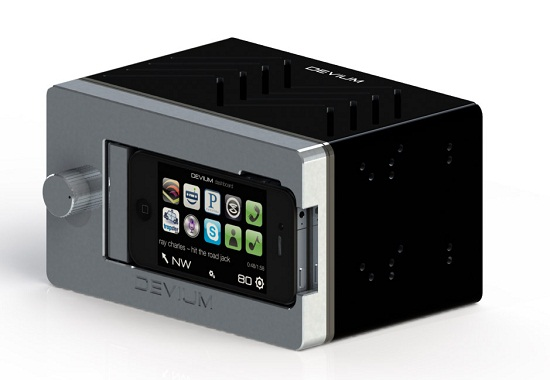The Dash is a car stereo designed for your iPhone