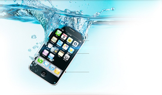 What if you could make your phone waterproof without a case?
