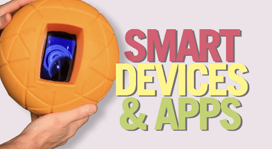 TheO Smart Ball lets you throw around your smartphone