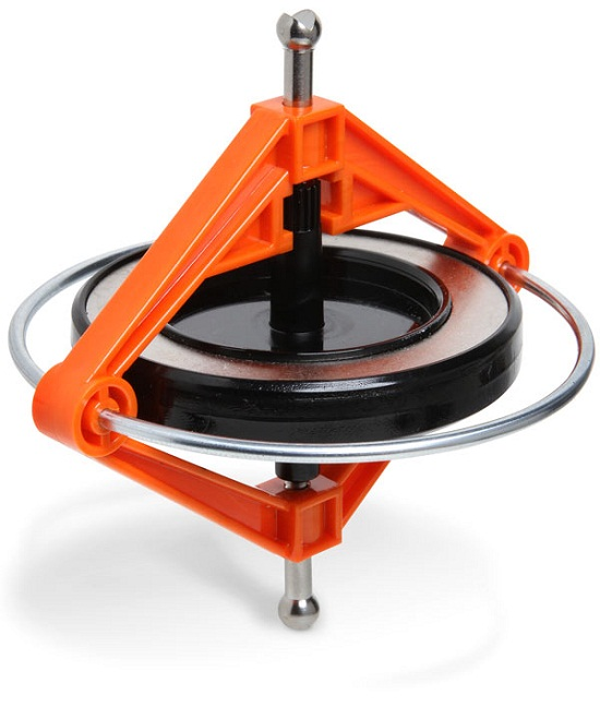 Precision Gyroscope uses science to keep spinning