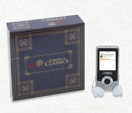 Library of Classics MP3 gives you literary classics for almost nothing