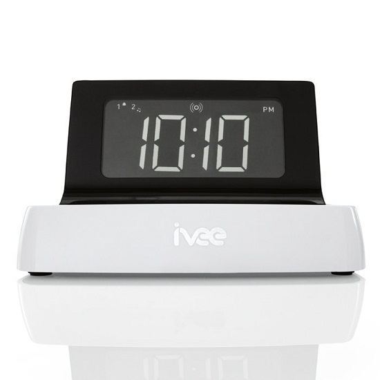 ivee Digit alarm clock will listen when you tell it to shut up