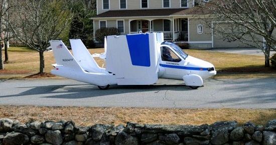 Terrafugia Transition car-airplane hybrid is coming