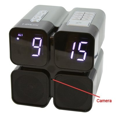 HMDX Quad Alarm Clock will safeguard your room at night
