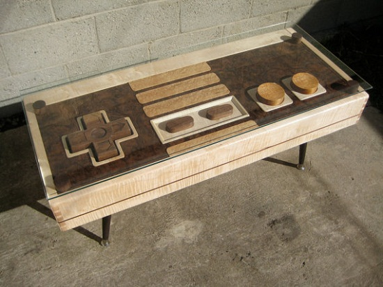 Nintendo Controller Coffee Table is the new way to play games