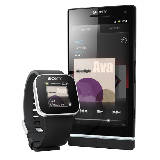 Sony SmartWatch puts your smartphone on your wrist