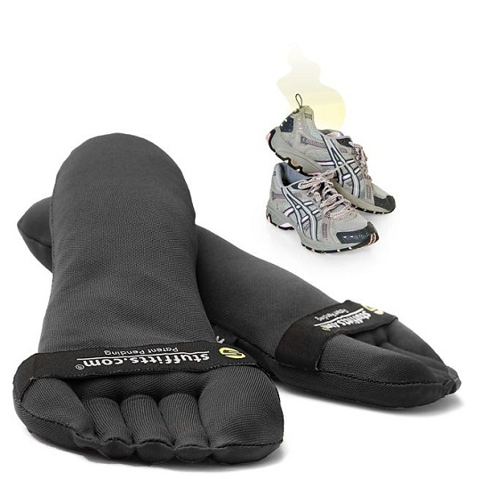 Stuffits Shoe Savers keep your shoes dry and smelling good