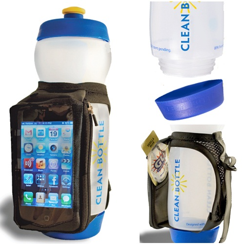 Clean Bottle Runner has everything a runner needs all in one place