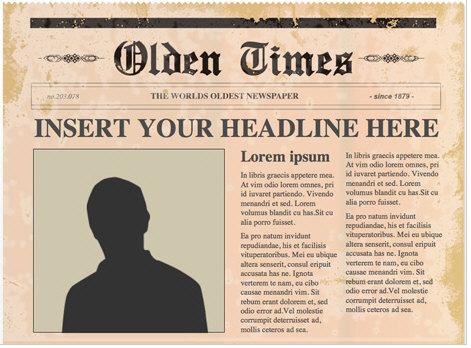 Freepowerpointnewspapertemplates