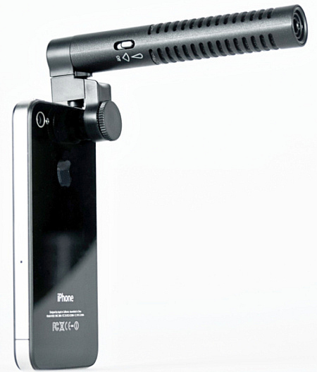 iPhone Boom Mic gives your audio that extra �oomph�