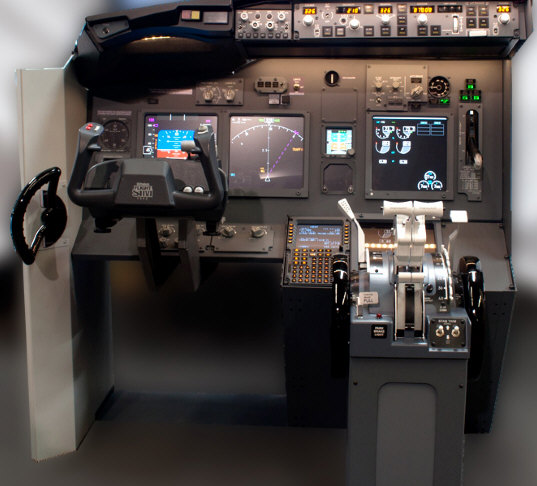 JetMax-737 Flight Sim Kit turns your garage into a Boeing 737 cockpit