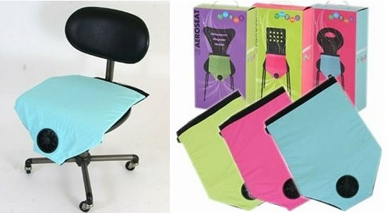 Aero Seat Cooling Cushion is like the cool side of the pillow for your computer chair