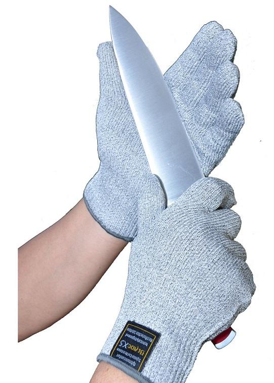 BladeX5 Cut Resistant Gloves keep your fingers safe