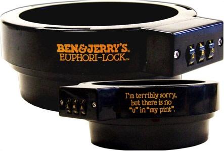 Ben&Jerrys Euphori-Lock keeps your ice cream safe