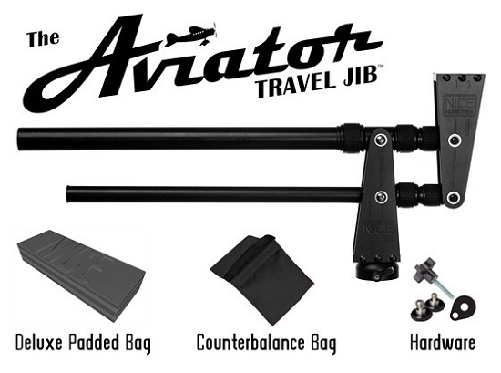 Aviator Travel Jib will make small films looks like they belong in the big times