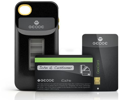 The Geode streamlines all your credit cards in one place…your phone