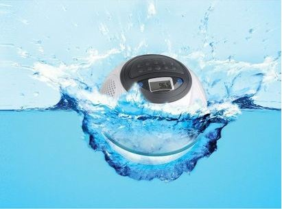 ION Water Rocker will give you music above and below your pool