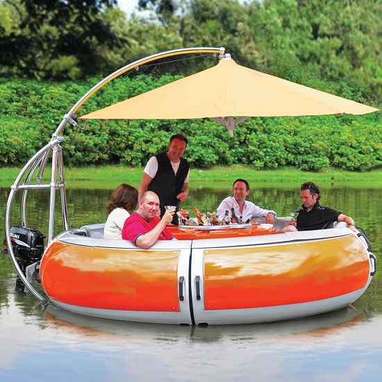 Barbeque Dining Boat is a fantasy come to life