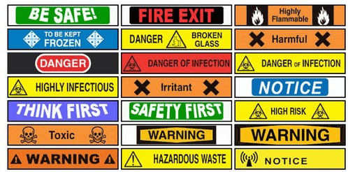 dangersigngenerator small1 Danger Sign Generator lets you create warning signs to protect against lawsuits