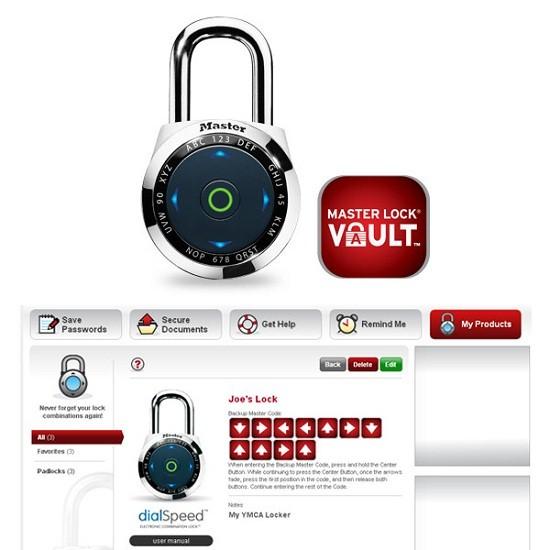 Dialspeed brings the touchscreen phenomenon to combination locks