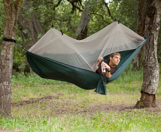 Grand Trunk Skeeter Beeter Hammock is a shield against bugs