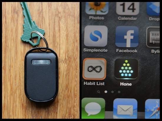 Hone for iPhone makes sure you can always track down your keys