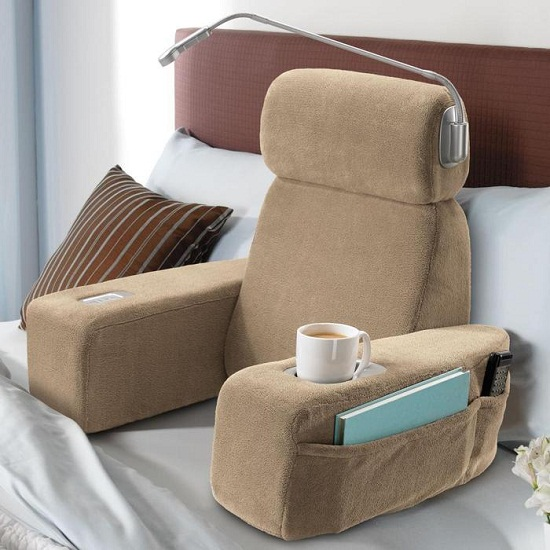 Nap Massaging Bed Rest will take you to your happy place